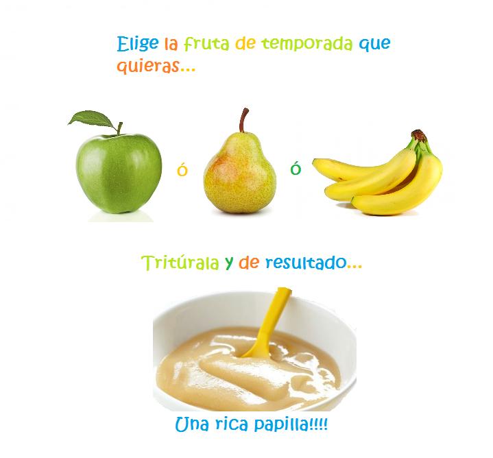 Papilla de frutas hijos y alimentaci n for Comedor de frutas para bebe